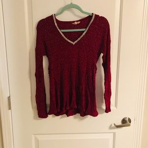 Raspberry Juicy Couture Top